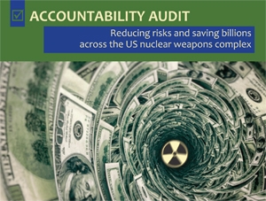 Accountability Audit: New Report from the Alliance for Nuclear Accountability
